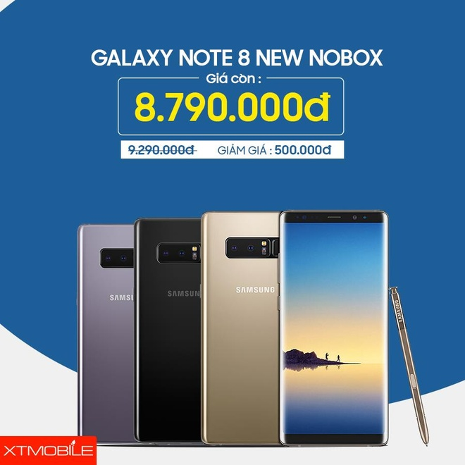 Galaxy Note 8, iPhone 7 Plus giam den 500.000 dong tai XTmobile hinh anh 2