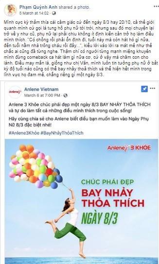 Phan ung cua hang sua khi Ngo Thanh Van gop y ve 'tinh than bay nhay' hinh anh 3