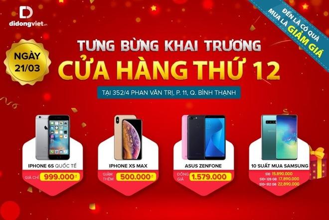 iPhone 6S con 2,9 trieu dip khai truong cua hang Di Dong Viet thu 12 hinh anh 1