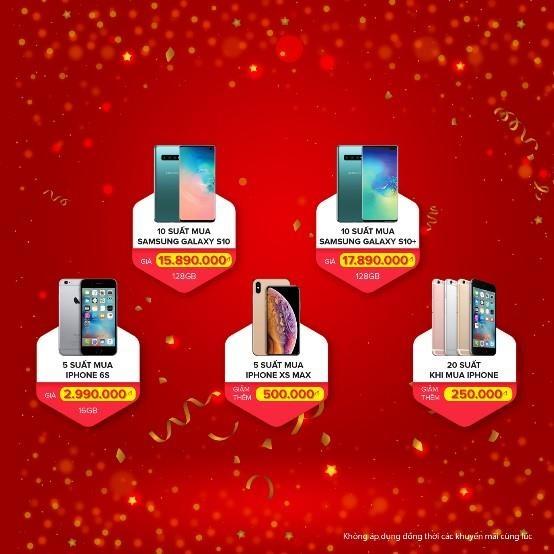 iPhone 6S con 2,9 trieu dip khai truong cua hang Di Dong Viet thu 12 hinh anh 2