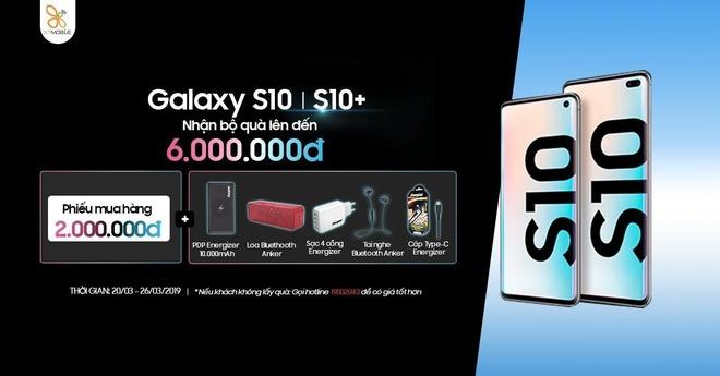 Mua Galaxy S10, S10+, nhan khuyen mai den 6 trieu dong tai XTmobile hinh anh 1