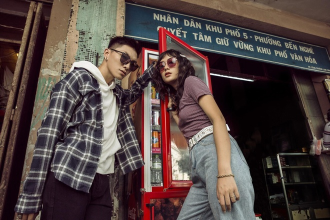 Thu Anh - Duy Linh len do 'cuc chat' voi kinh mat Molsion hinh anh 4