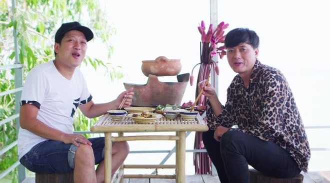 Truong Giang ru Quach Ngoc Tuyen vao bep nau ca lang hinh anh 4