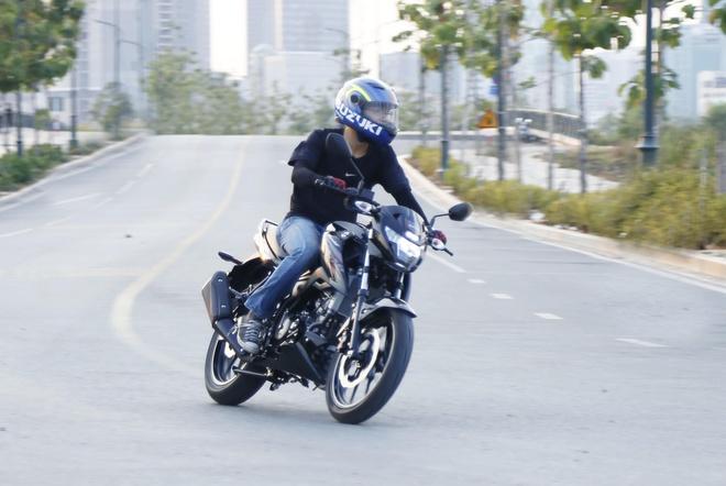 Suzuki GXS150 Bandit - mau naked bike 150 cc hiem hoi co yen lien mach hinh anh 2