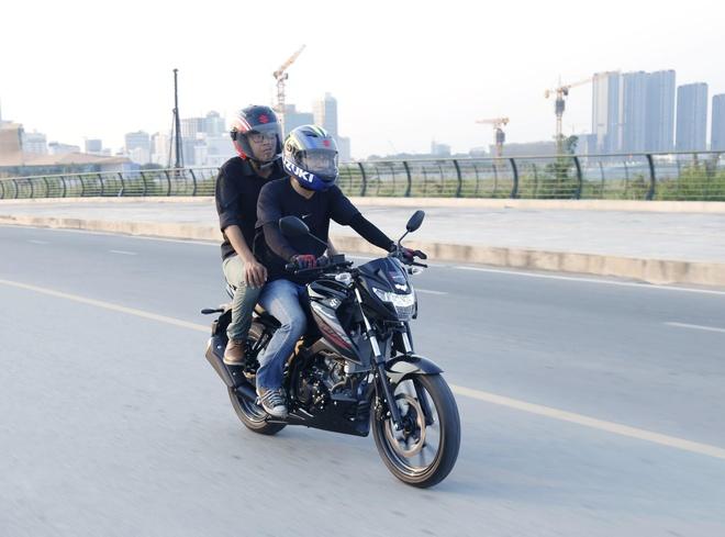 Suzuki GXS150 Bandit - mau naked bike 150 cc hiem hoi co yen lien mach hinh anh 3