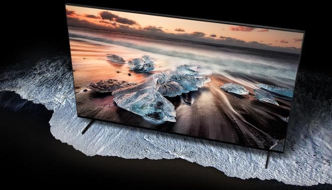 Toan canh su kien ra mat Samsung TV QLED 8K hinh anh