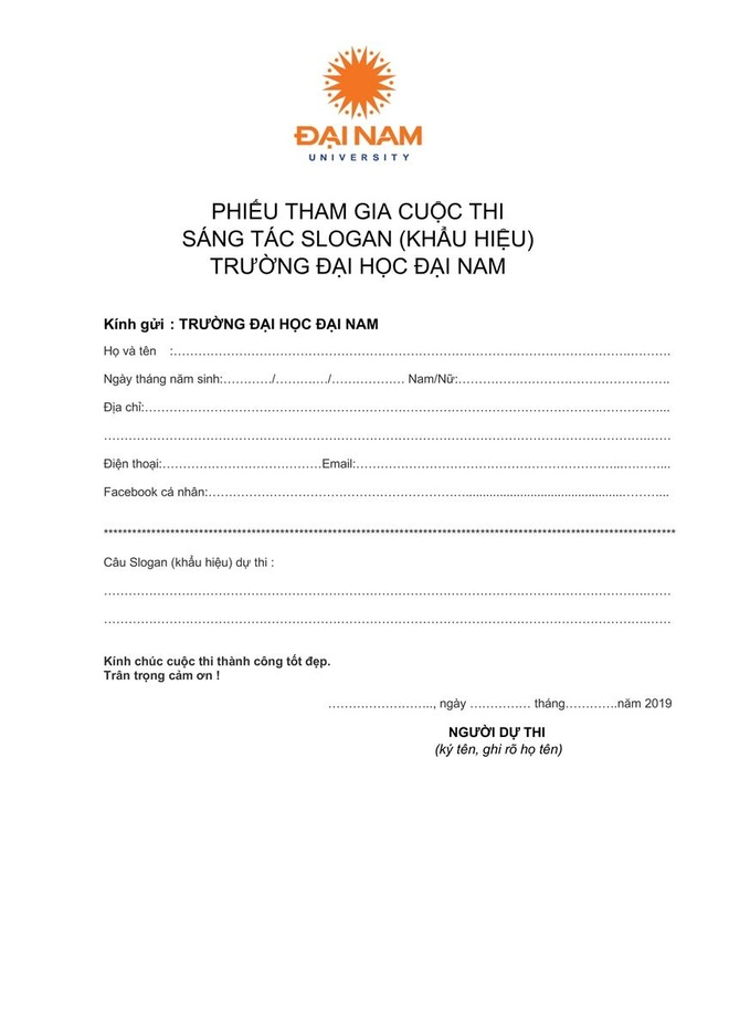 DH Dai Nam thay doi logo, phat dong cuoc thi sang tac slogan hinh anh 4