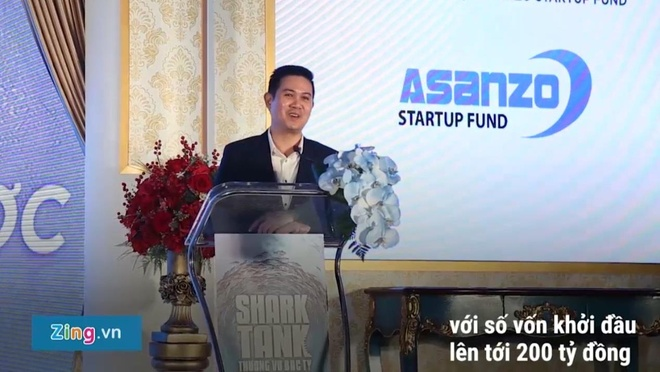 Video - CEO Pham Van Tam ra mat quy khoi nghiep Asanzo Startup Fund hinh anh