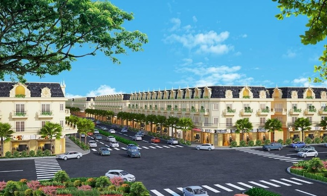 Khoi cong khu pho thuong mai cua Five Star Eco City hinh anh 4