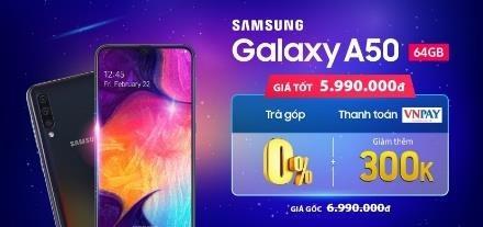 Samsung Galaxy A50 giam 1,3 trieu dong tai Di Dong Viet hinh anh 6