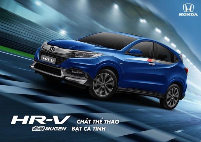 Honda Viet Nam gioi thieu bo phu kien the thao Mugen cho Honda HR-V hinh anh 1