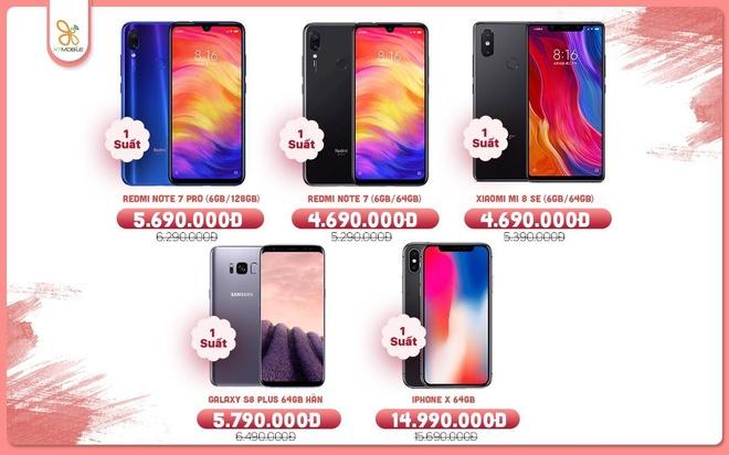 Galaxy Note 9, iPhone 7 Plus giam den 3,7 trieu tai XTmobile hinh anh 4