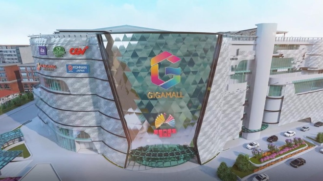 Video - Toan canh Gigamall hinh anh