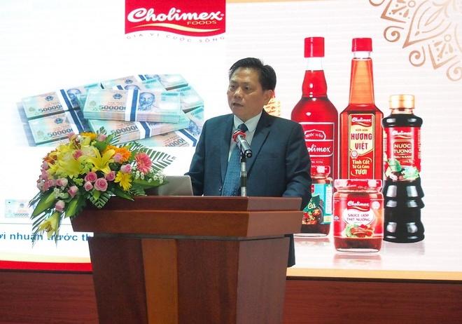 Cholimex Food dat muc tieu doanh thu 2.300 ty nam 2019 hinh anh 2