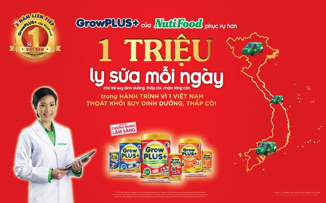 1 trieu ly sua moi ngay cho tre em suy dinh duong Viet hinh anh 2