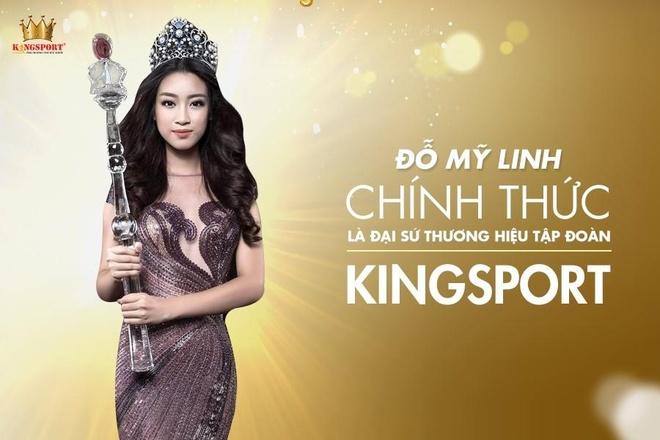 Do My Linh chinh thuc lam dai su thuong hieu cho Tap doan Kingsport hinh anh 1