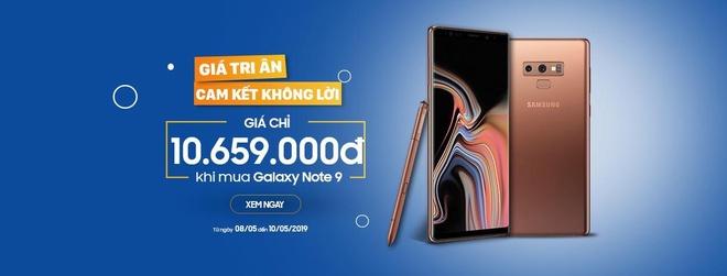Samsung Galaxy Note 9 giam con 10,6 trieu dong tai XTmobile hinh anh 1