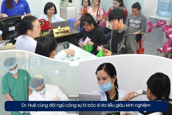 Dr. Hue - dia chi dieu tri mun uy tin theo tieu chuan y khoa hinh anh 2