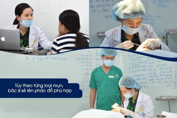 Dr. Hue - dia chi dieu tri mun uy tin theo tieu chuan y khoa hinh anh 3