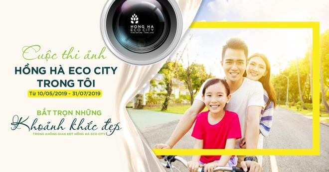 Cuoc thi anh 'Hong Ha Eco City trong toi' chinh thuc khoi dong hinh anh 1