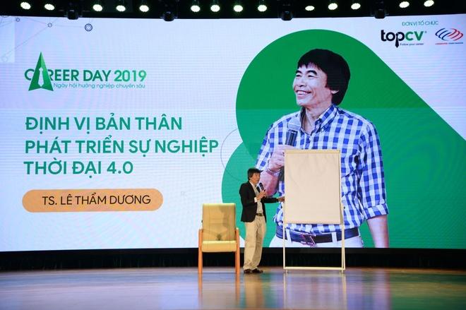 Gan 1.000 sinh vien tham du ngay hoi huong nghiep chuyen sau 2019 hinh anh 4