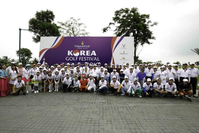 VDV Kim Sung Guk thang giai dau 'Vinpearl golf - Korea golf festival' hinh anh 4