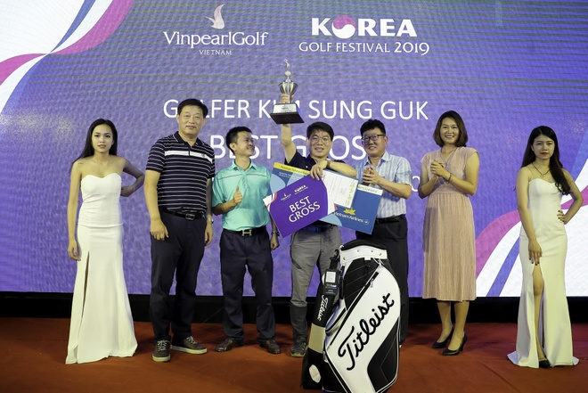 VDV Kim Sung Guk thang giai dau 'Vinpearl golf - Korea golf festival' hinh anh 1