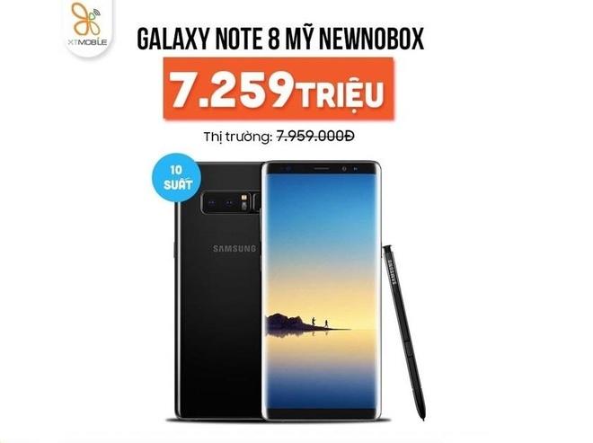 Galaxy Note 8, iPhone 7 Plus giam den 1,8 trieu dong tai XTmobile hinh anh 3