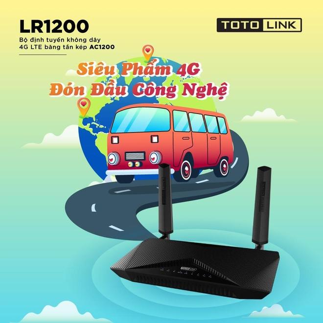 Router Totolink LR1200 - anten da huong, toc do LTE len den 150 Mbps hinh anh 2