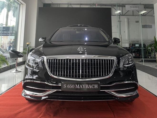 Mercedes-Maybach S 650 2019 gia 15 ty dau tien VN ban ra tai Nghe An hinh anh 1
