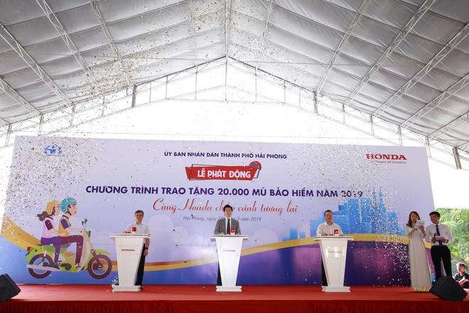 Honda khoi dong chuong trinh tang 20.000 mu bao hiem nam 2019 hinh anh 1