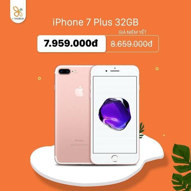 iPhone 7 Plus, 8 Plus giam den 800.000 dong tai XTmobile hinh anh 2