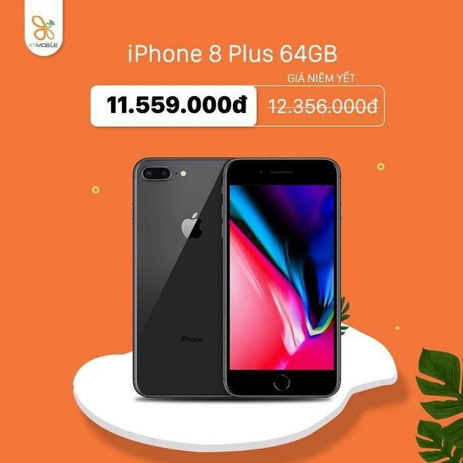 iPhone 7 Plus, 8 Plus giam den 800.000 dong tai XTmobile hinh anh 3