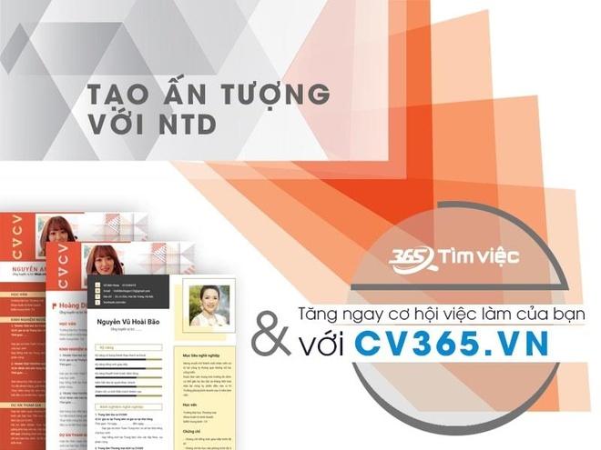 Timviec365.vn - website ho tro tao CV, tim viec tien loi hinh anh 1