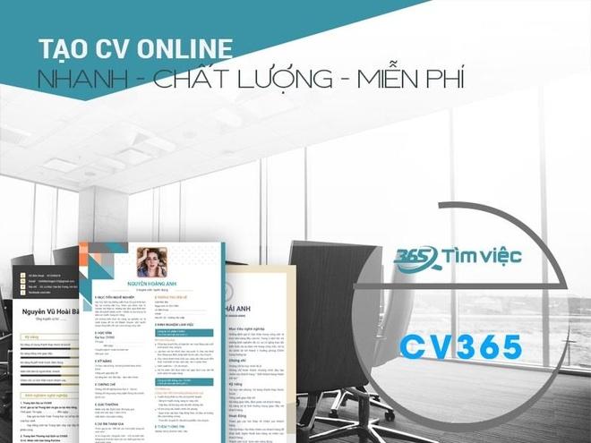 Timviec365.vn - website ho tro tao CV, tim viec tien loi hinh anh 2