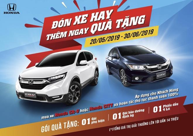 Honda Viet Nam tang qua cho khach mua xe CR-V va City hinh anh 4