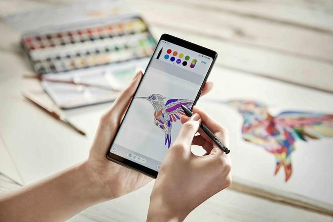 Galaxy Note 9 giam thang 7 trieu dong trieu dong tai Di Dong Viet hinh anh 4