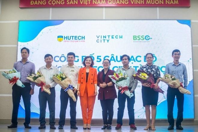 CLB khoi nghiep Hutech nhan tai tro 350 trieu dong tu VinTech hinh anh 1