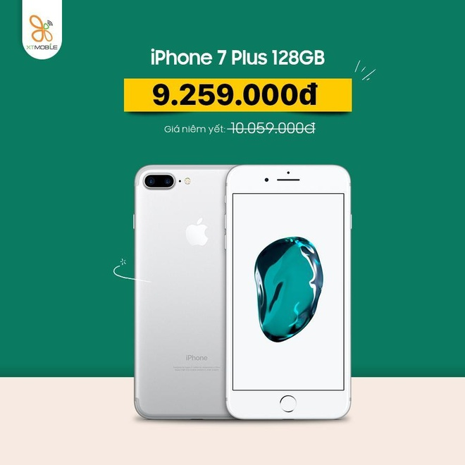 iPhone 7 Plus, Galaxy S10 5G giam them 800.000 dong tai XTmobile hinh anh 2