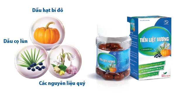 Ho tro khac phuc phi dai tien liet tuyen voi san pham Tien Liet Vuong hinh anh 1