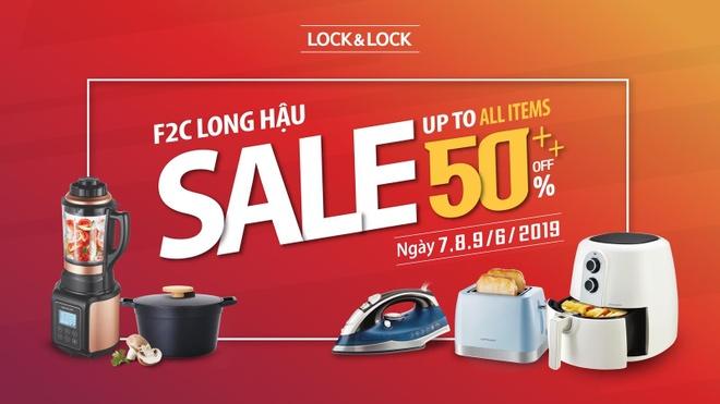 Lock&Lock Long Hậu giảm đến 50% trong 3 ngày