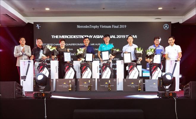 'MercedesTrophy Viet Nam 2019' tim ra 7 guong mat du san choi chau A hinh anh 1