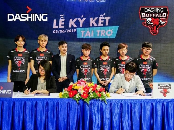 Dashing tài trợ cho Saigon Heat và Dashing Buffalo mùa giải 2019