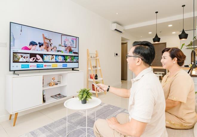Đến điện máy Pico, chọn tivi thông minh để gắn kết gia đình
