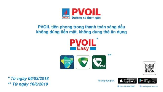 PVOIL tiên phong ứng dụng QR code vào thanh toán xăng dầu