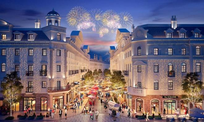 Shophouse Europe - thien duong mua sam dam chat chau Au hinh anh 1
