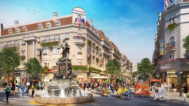 Shophouse Europe - thien duong mua sam dam chat chau Au hinh anh 3