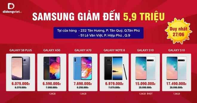 iPhone 7 Plus giam 800.000 dong, Galaxy S10 ve gia tu 15 trieu hinh anh 3