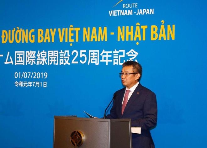 Vietnam Airlines ky niem 25 nam duong bay Viet Nam - Nhat Ban hinh anh 3
