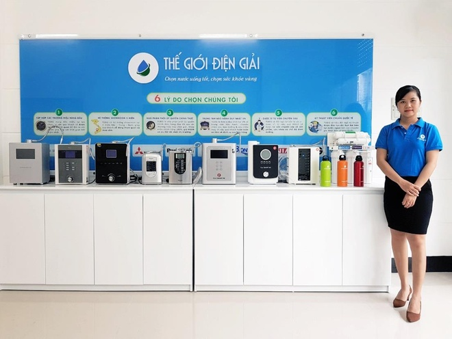 The Gioi Dien Giai khai truong showroom may loc nuoc hydrogen Can Tho hinh anh 2